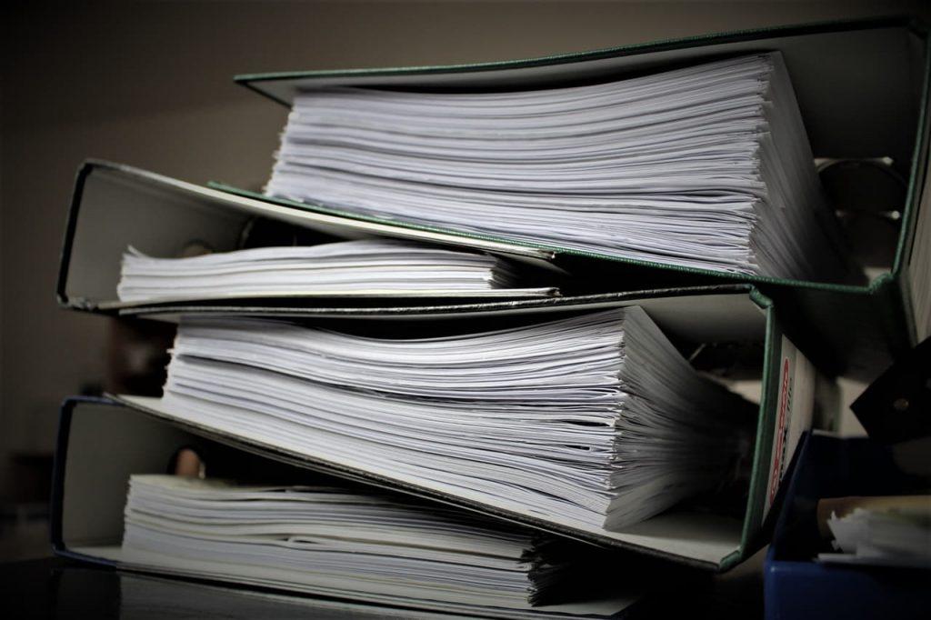 איסוף מסמכים לאחר תאונת דרכים